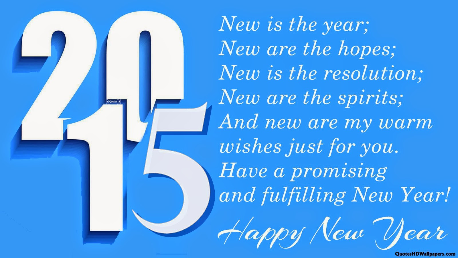 Happy New Year 2015 Wallpapers Quotes