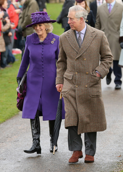 Queen Elizabeth, Countess Sophie of Wessex, Zara and Mike Tindall, Leydi Louise at Sandringham