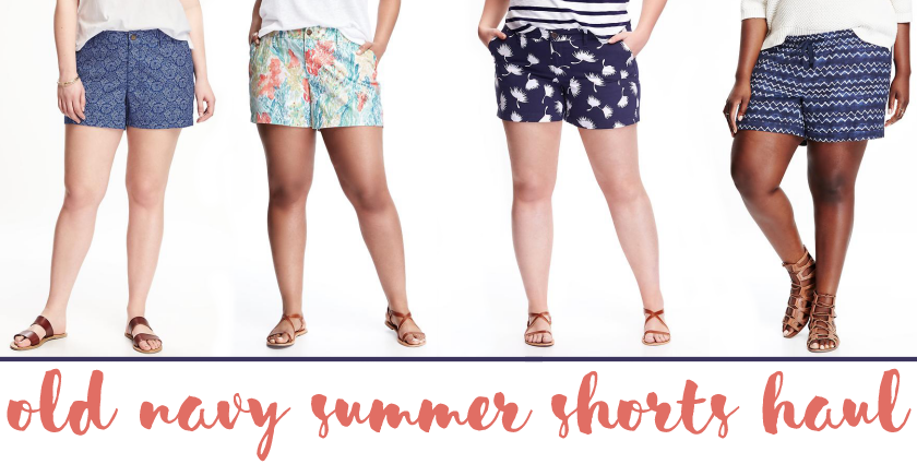 bbloggers, bbloggersca, fbloggers, old navy style, summer, shorts, prints, haul