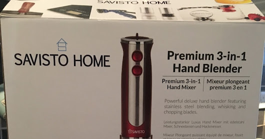 Savisto 3 in 1 Hand Blender - Making humous!