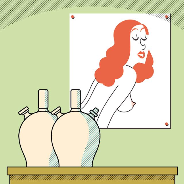 shoo bop drawing girls marcos moran