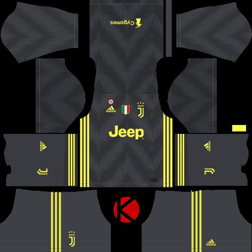 juventus 201819 kit dream league soccer kits kuchalana