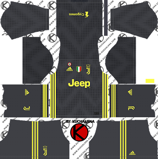 and the package includes complete with home kits Baru!!! Juventus 2018/19 Kit - Dream League Soccer Kits