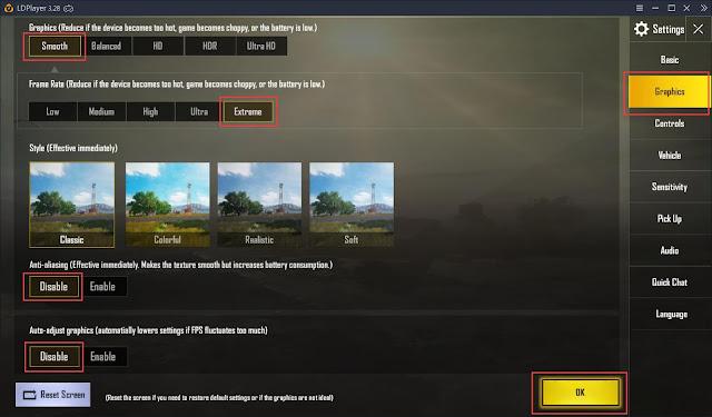 Cara Bermain PUBG MOBILE di 60 FPS