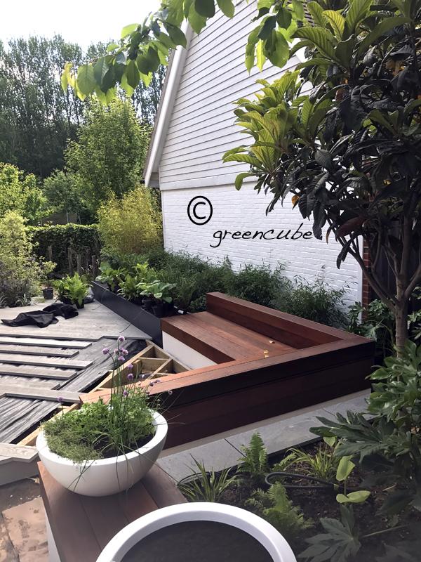 Greencube garden and landscape design uk courtyard in for King garden designs