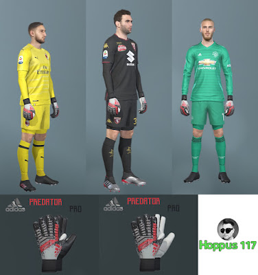 PES 2019 Adidas 302 Redirect Gloves Pack 2019 by Hoppus 117