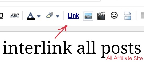 Building link, how to interlink all posts and pages of a blog