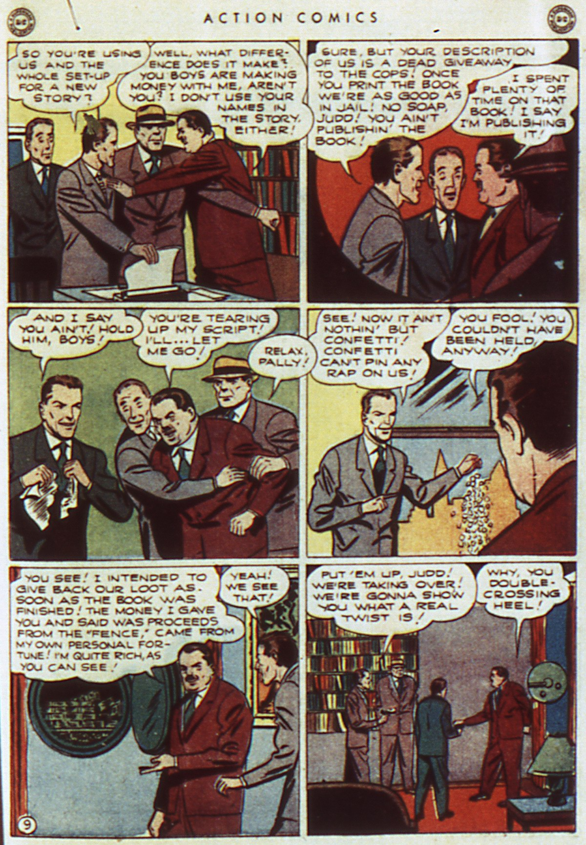 Read online Action Comics (1938) comic -  Issue #96 - 11