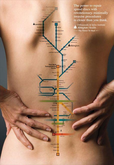 Реклама клиники лечения позвоночника