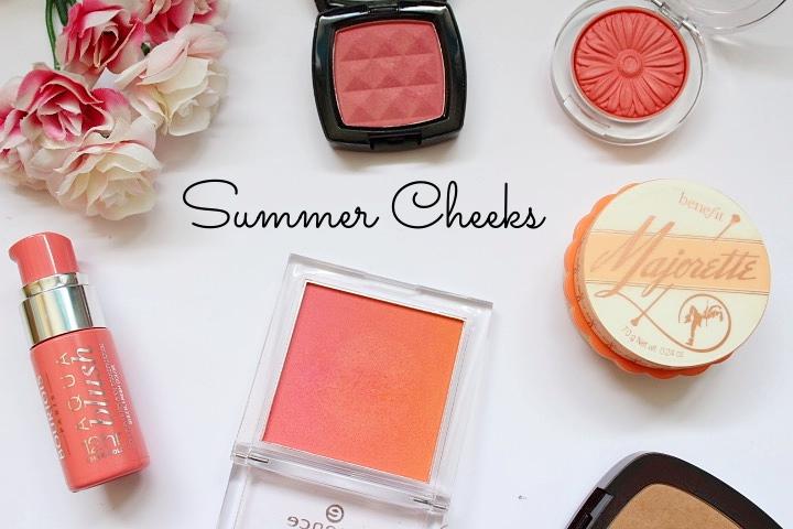 Summer Cheek Colours