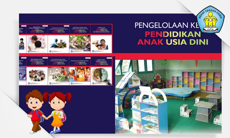Buku Pedoman Pengelolaan Kelas Pendidikan Anak Usia Dini (PAUD) Format PDF