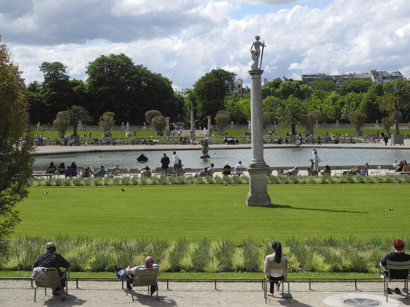 Un peu d 39 histoire jardin du luxembourg for Arbres jardin du luxembourg