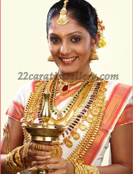 22K Gold Kerala Traditional Jewelry - Jewellery Designs