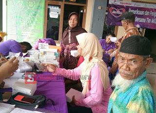 EMCL dan STIKes ICsada Gelar Pengobatan Gratis di 4 Desa