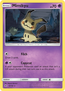 Mimikyu Guardians Rising Pokemon Card