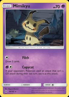 Mimikyu Guardians Rising Pokemon Card