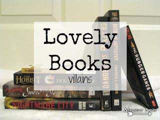 http://traceydyck.blogspot.com/2016/02/lovely-books-villains.html
