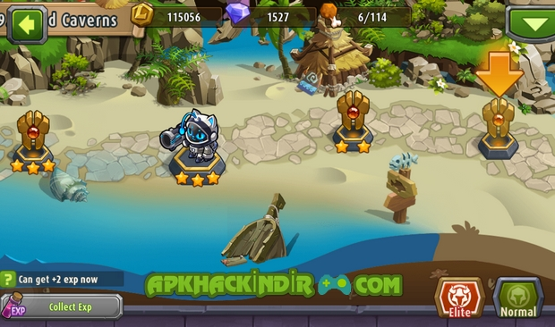 magic rush heroes 1.1.117 hile