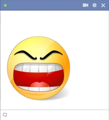 Rage Smiley For Facebook