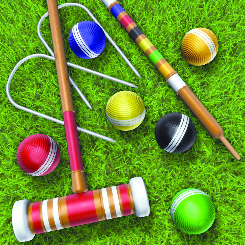 Game Played With Balls Mallets And Wickets - CodyCross
