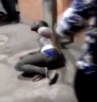 Photos/Video: Nigerian man tied to pole and brutally beaten in India over alleged theft