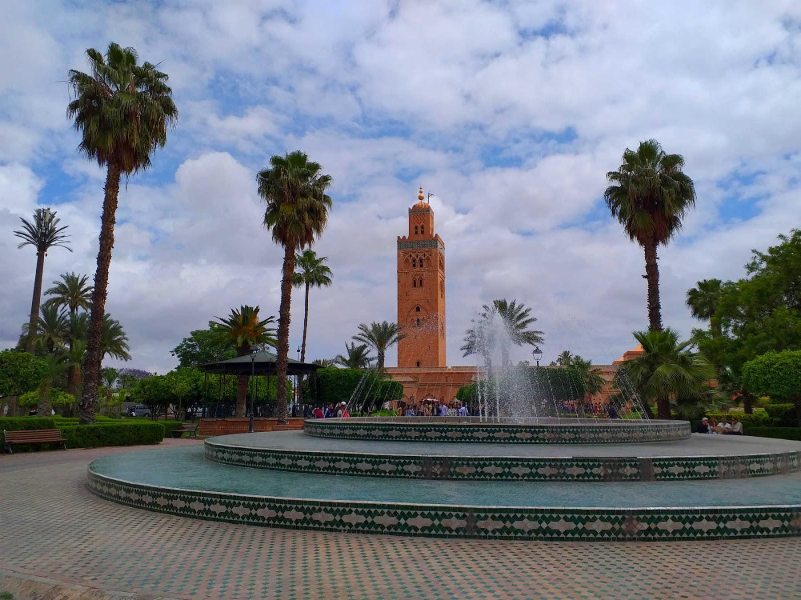 Mesquita Koutoubia, Marrakech.Marrocos.