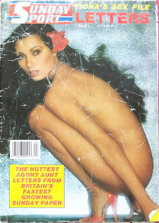 Front cover of the Sunday Sport magazine from 1988