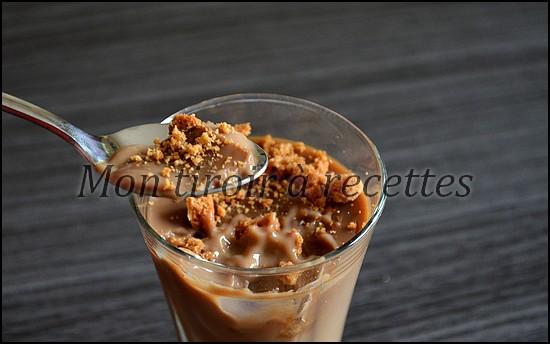 crème café speculoos