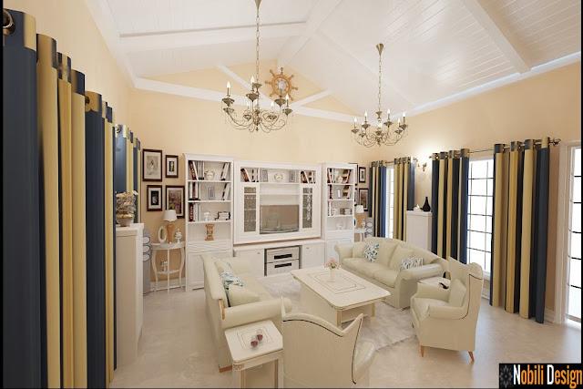 Design interior case apartamente stil clasic-modern cu materiale de designer