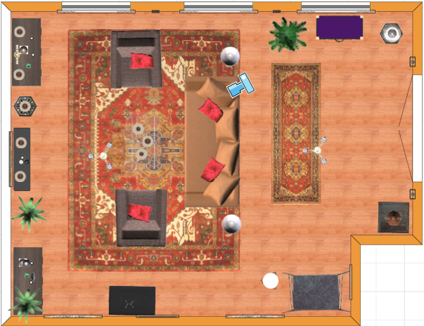 Turkish living room