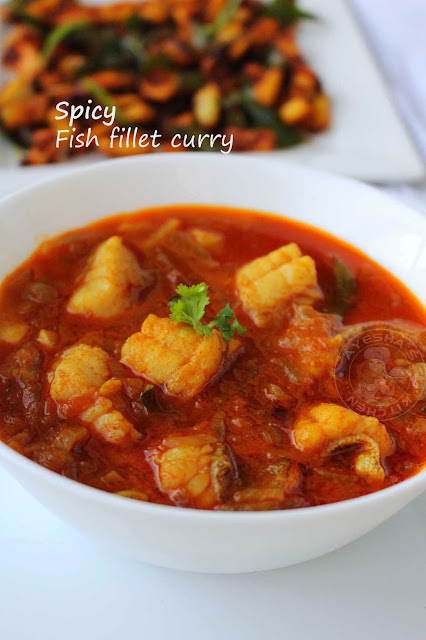 spicy fish fillet curry curried fish fish curry