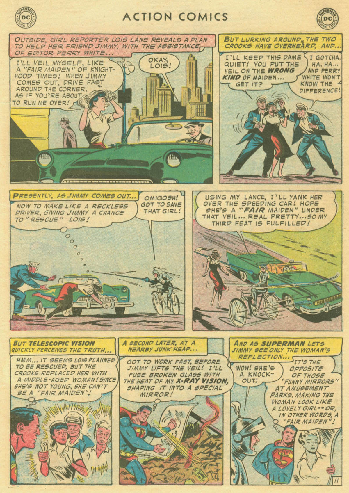 Read online Action Comics (1938) comic -  Issue #231 - 13
