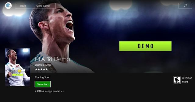 تحميل أفضل لعبة FIFA18 بكرا فيك عالي جدا