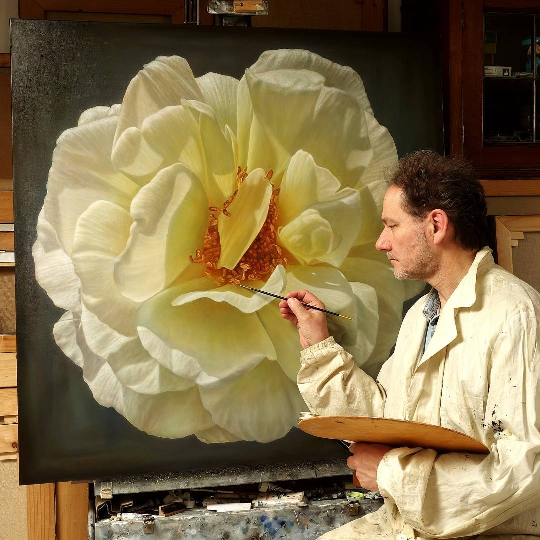 12-Gioacchino-Passini-Realistic-Paintings-of-Flowers-and-Roses-www-designstack-co