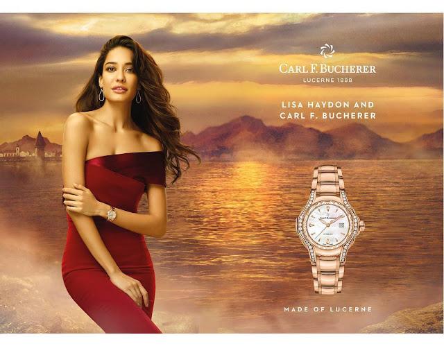Lisa Haydon Watch Ad