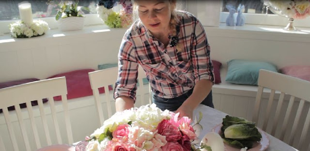 Kasia prezentuje... Inspiracje Wiosenne, czyli jak udekorować stół wielkanocny