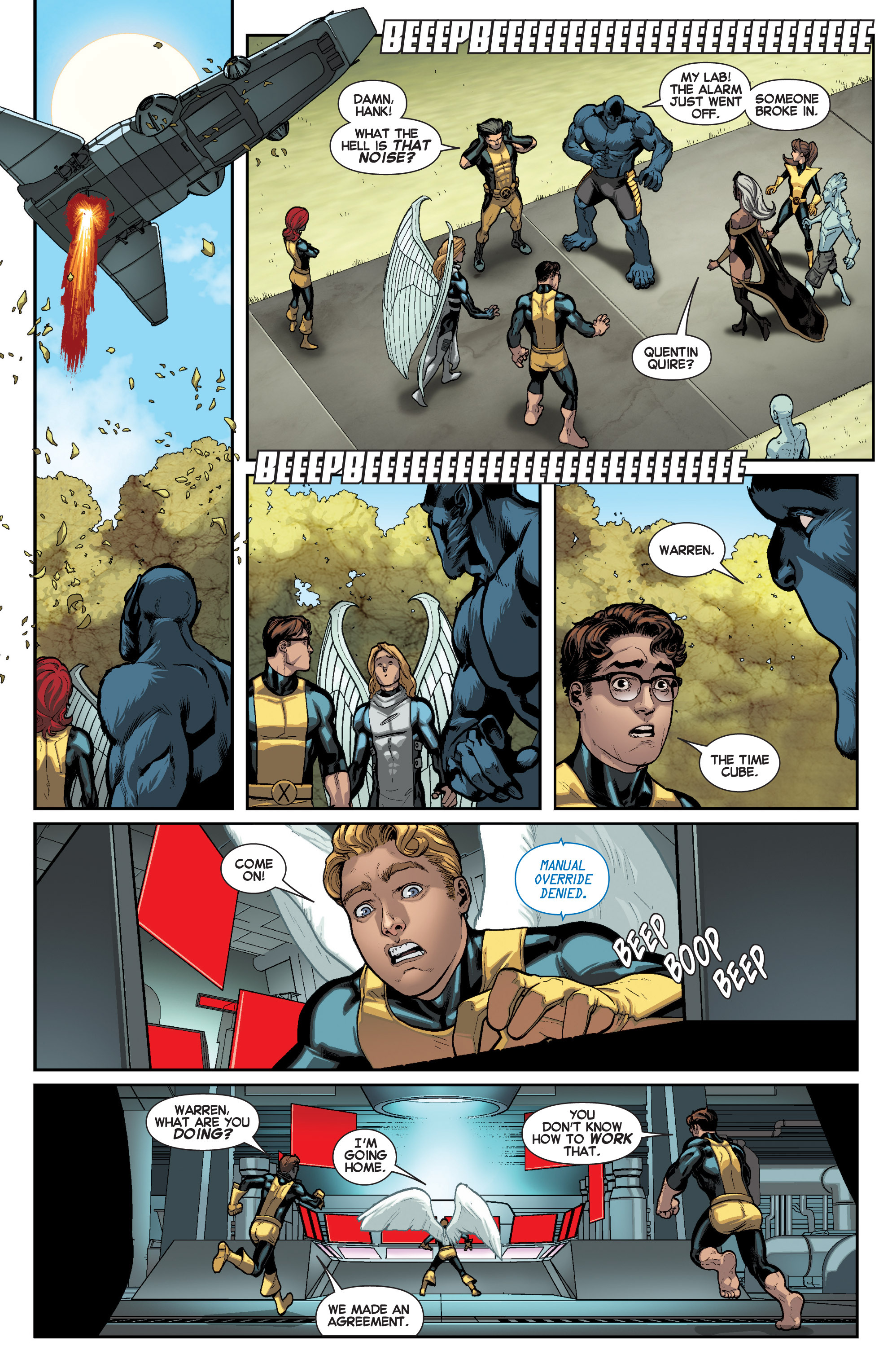 Read online All-New X-Men (2013) comic -  Issue # _Special - Here To Stay - 60