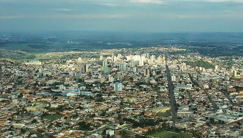 Ponta Grossa - vista aérea