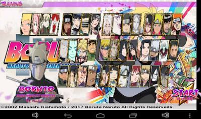 Boruto Next Generation Mod Apk Unlimited Coint by Nadel