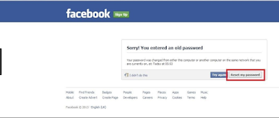 Facebook password Reset - How To Recover FB Password From Hackers