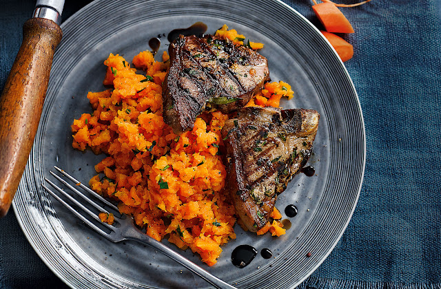 Lamb Lamb and more Lamb Recipe Ideas to Share! - Page 3 Carrot-mash-with-lamb-chops-