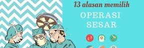 13 Alasan Memilih Operasi Sesar