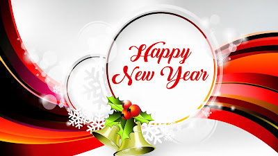 Happy New Year 2018  Widescreen HD Wallpaper
