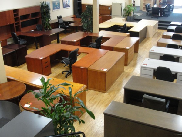 Creative Used Rudnick Mahogany Office Desks For Sale