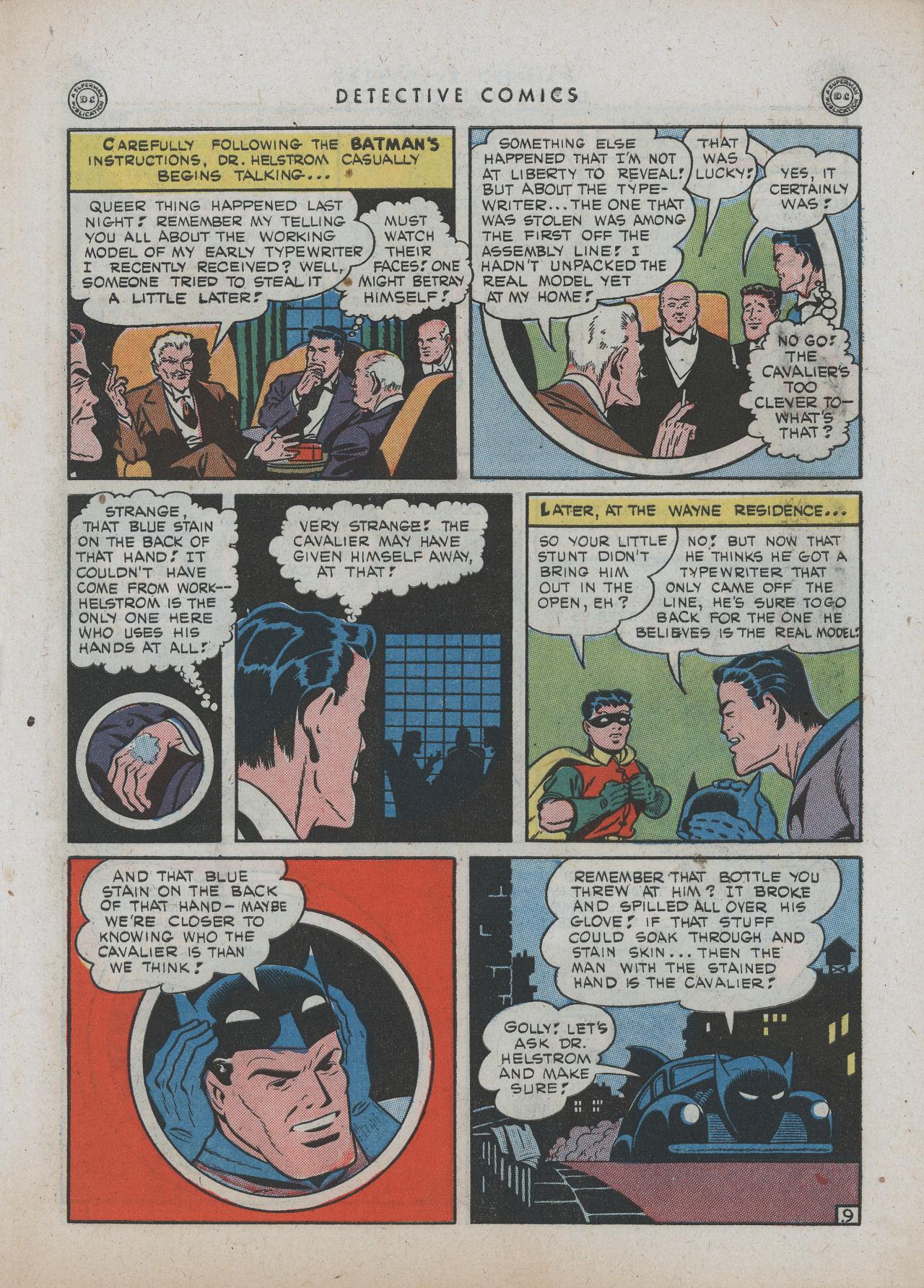Read online Detective Comics (1937) comic -  Issue #89 - 11