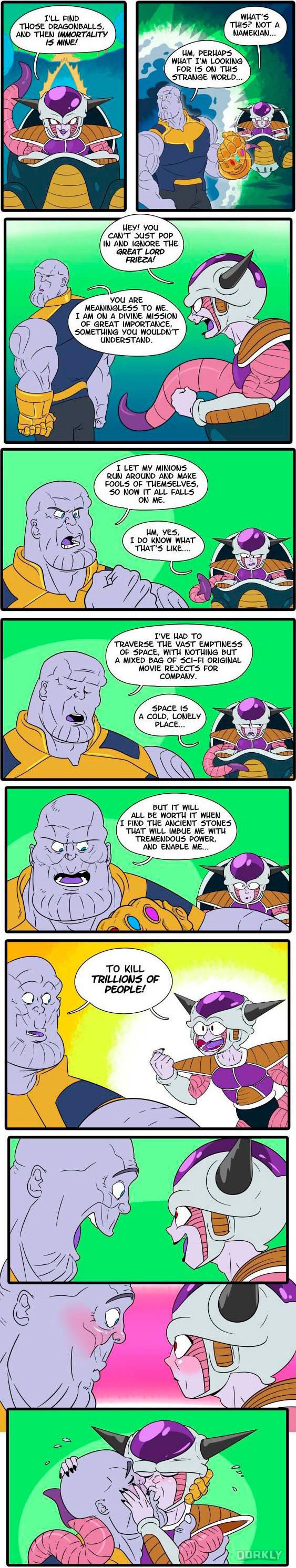 Infinity War Dragonball