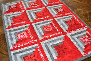 https://www.etsy.com/listing/274001442/red-gray-log-cabin-quilt-scandinavian