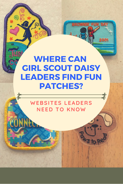 Where Can Girl Scout Daisy Leaders Find Fun Patches?