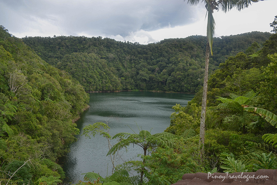 View of Lake Danao from the park's bird watching tower
