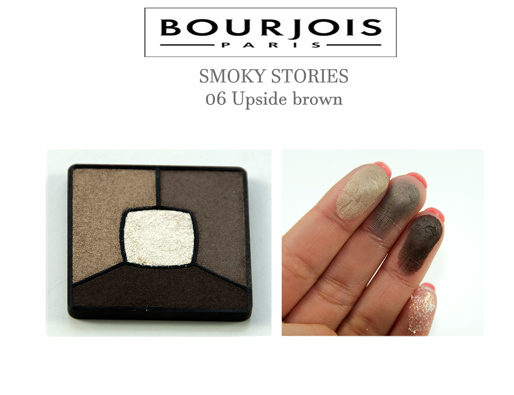 Bourjois SMOKY STORIES 06 Upside brown